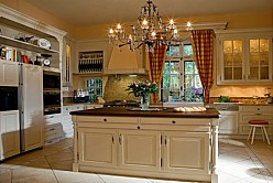 English Country House Kitchen Made Of Solid Wood BAUR