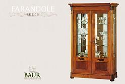 classic sstyle glass cabinet baur wohnfaszination. Black Bedroom Furniture Sets. Home Design Ideas