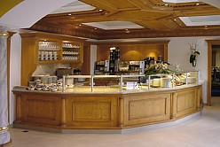 Kitchen buffet interior
