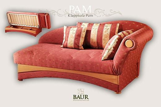 sofa sleeper for guestrooms baur wohnfaszination. Black Bedroom Furniture Sets. Home Design Ideas