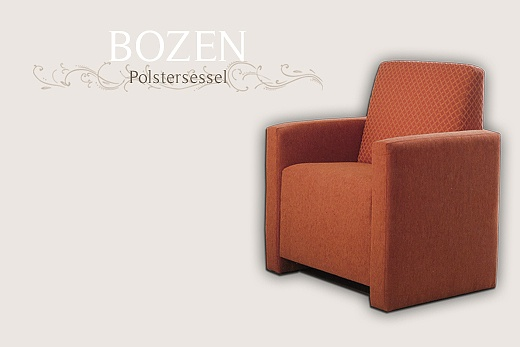 armchair for the hotel interior baur wohnfaszination. Black Bedroom Furniture Sets. Home Design Ideas