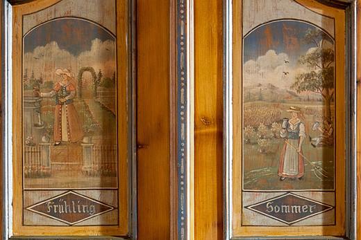 Baur Wohnfaszination rustic style cupboard painted baur wohnfaszination