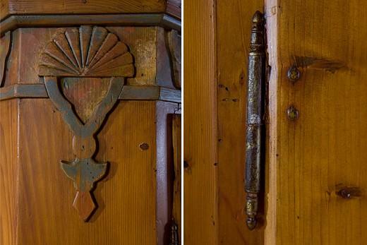 Baur Wohnfaszination rustic style cupboard handpainted baur wohnfaszination