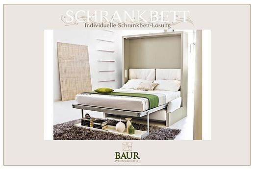 wallbed for hotel rooms baur wohnfaszination. Black Bedroom Furniture Sets. Home Design Ideas