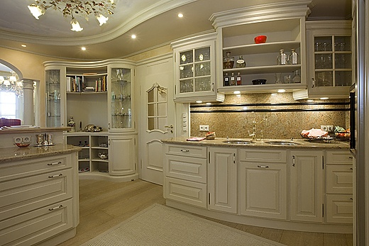 solid wood country house kitchen baur wohnfaszination. Black Bedroom Furniture Sets. Home Design Ideas