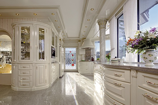 white country house kitchen baur wohnfaszination. Black Bedroom Furniture Sets. Home Design Ideas