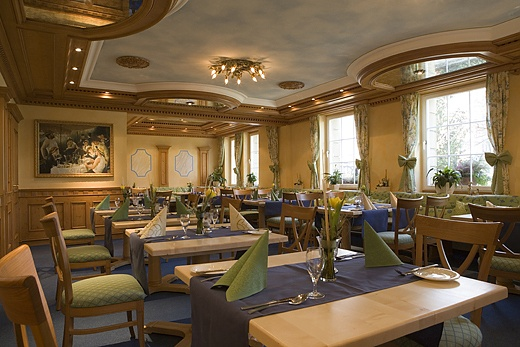Restaurant in country house style baur wohnfaszination for Cuisine style country