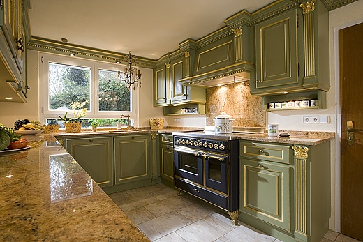Country house style kitchen
