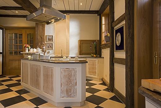 buffetbereich romantik hotel hof baur wohnfaszination. Black Bedroom Furniture Sets. Home Design Ideas