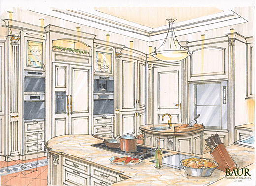 Baur Küchen planning of interiors baur wohnfaszination