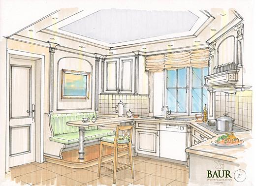 planning of interiors baur wohnfaszination. Black Bedroom Furniture Sets. Home Design Ideas